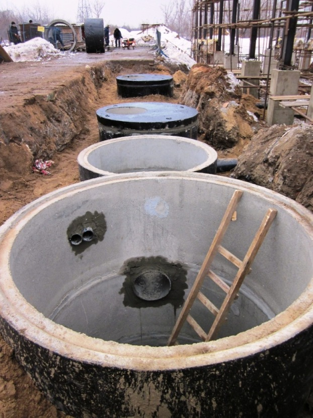 Прокладывание канализации и водопровода под фундаментом