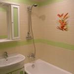 Отделка стен в ванной и нить вольфрамовая