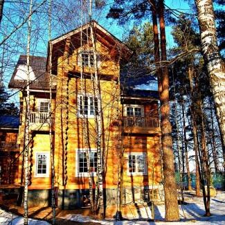 Дома в русском стиле