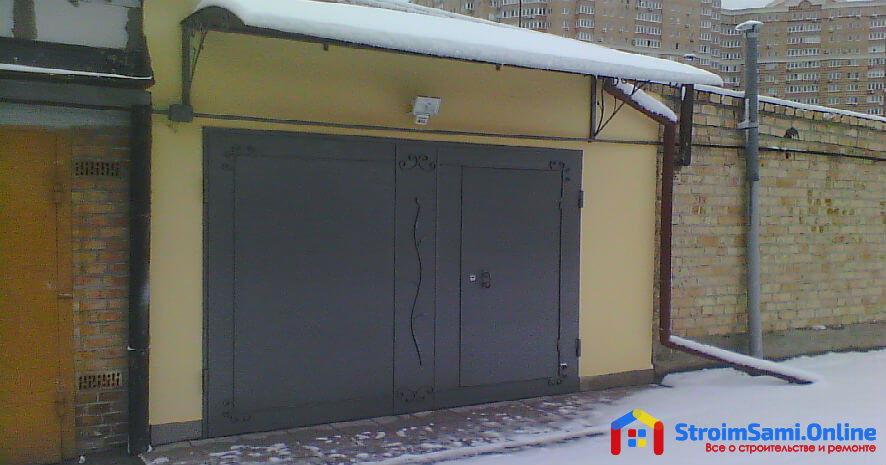 Где купить гаражные ворота