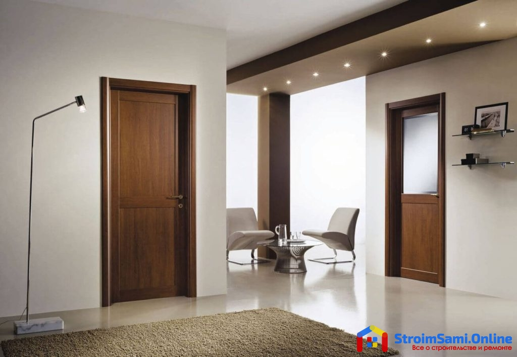 Ламинированные межкомнатные двери: что это такое и их преимущества