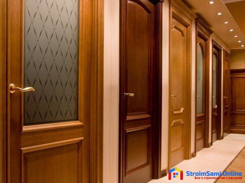 Межкомнатные двери в интерьере квартиры или дома