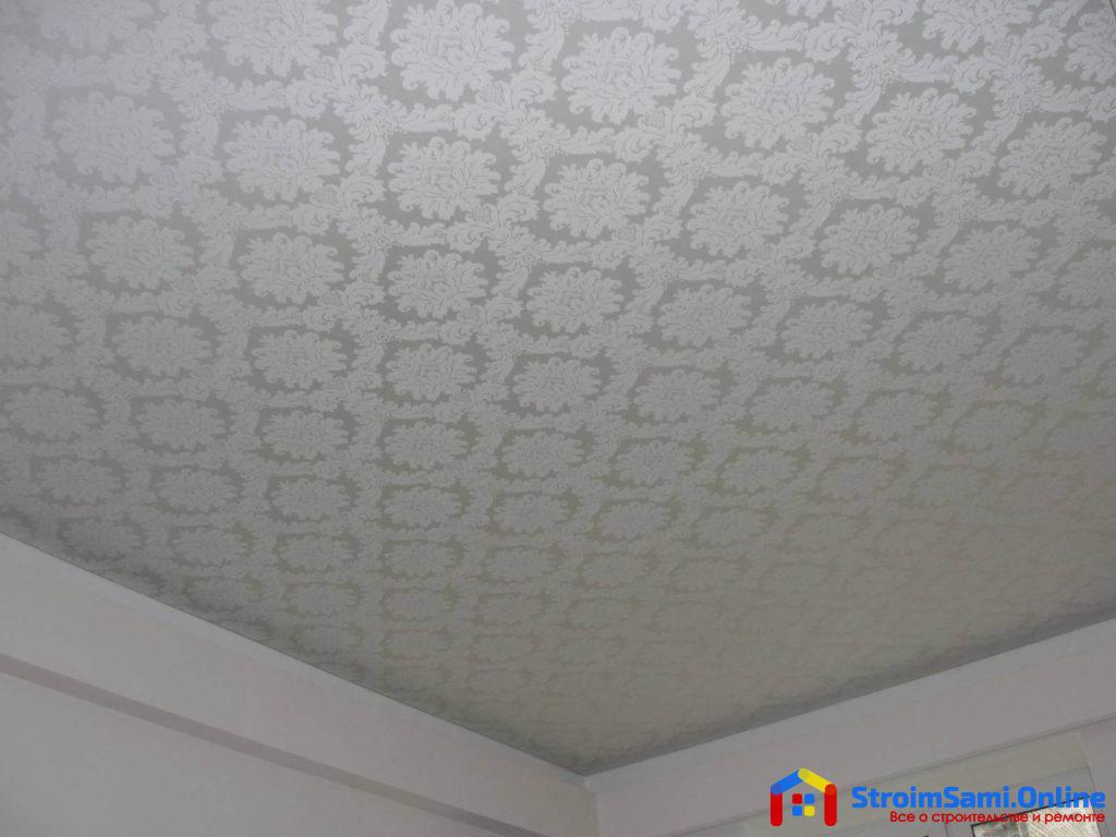 Тканевые натяжные потолки: основные преимущества