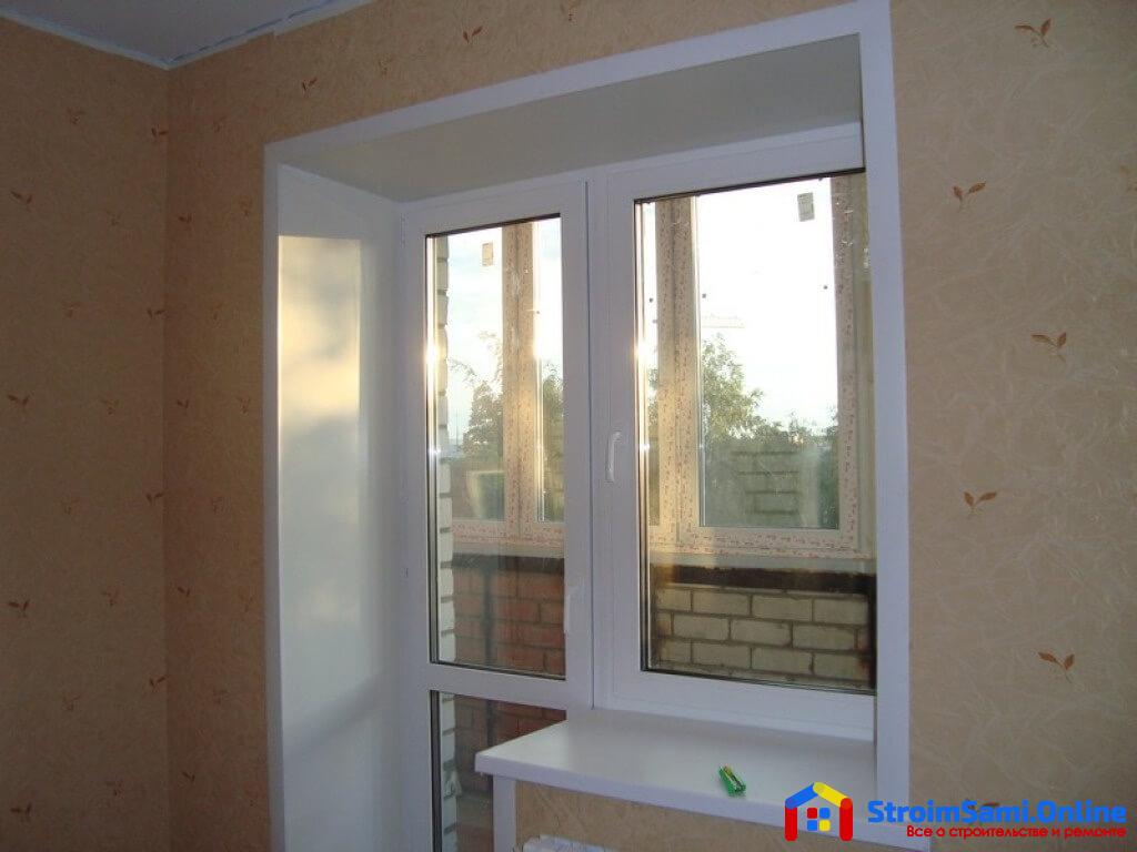 Установка откосов дверей и окон или что может быть проще?