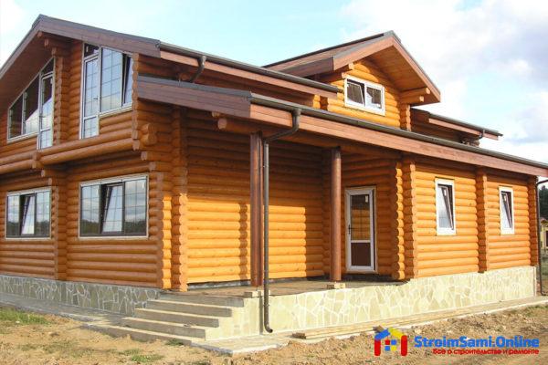 В чём состоят выгоды домов из оцилиндрованного бруса