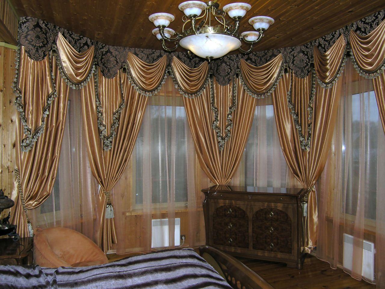 Как можно просто сшить красивые шторы